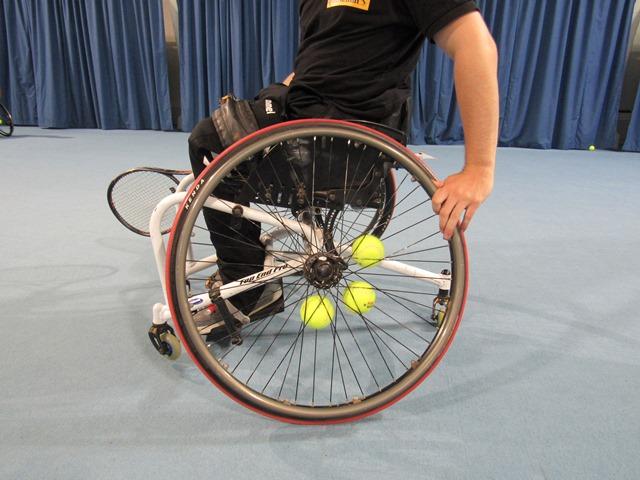 Rollstuhltennis - Hamburger Tennis-Verband